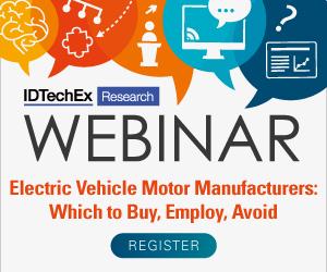 WEBINAR: Electric Vehicle Motor Manufacturers 300